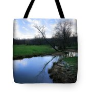 Idyllic Creek Tote Bag