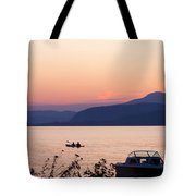 Idyllic Evening Tote Bag