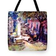 Idyllic Landscape Tote Bag