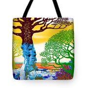 If A Tree Falls In Sicily Color 2 Tote Bag