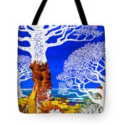 If A Tree Falls In Sicily White Tote Bag
