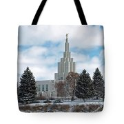 If Temple After Snow Tote Bag
