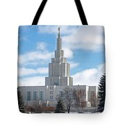 If Temple Against The Sky Tote Bag