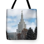 If Temple Dusted In Snow Tote Bag