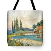 Iffley Mill On The River Thames Tote Bag