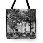 Iglesia La Merced - Antigua Guatemala Bnw Ix Tote Bag