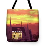 Iglesia Ni Cristo Sunset Cebu City Philippines Tote Bag