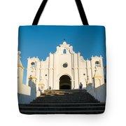 Iglesia San Andres Apostol - Apaneca 4 Tote Bag