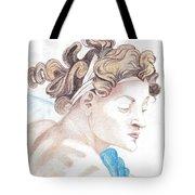 Ignudo Sistine Chappel Michelangelo Tote Bag