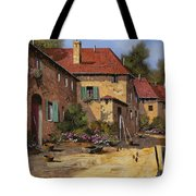 Il Carretto Tote Bag by Guido Borelli