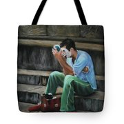 Il Mimo - The Mime Florence Italy Tote Bag