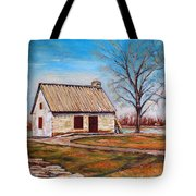 Ile Perrot House Tote Bag