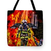 I'll Carry Your Load Brother - Oil Tote Bag