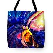 Illuminate Abstract  Tote Bag