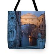 Illuminated Bridge Tote Bag