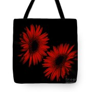 Illuminated Floral Tote Bag