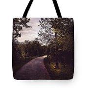 Illuminated Foot Path Tote Bag