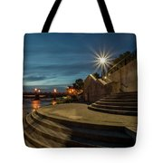 Illuminated Staircase Tote Bag