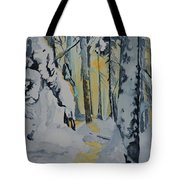 Illuminated Wilderness Tote Bag