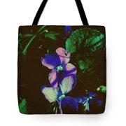 Illuminated Wildflowers Tote Bag