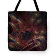 Illusion And Chance - Fractal Art Tote Bag