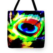 Illusion Of Colors Tote Bag
