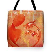 Illusion  Rainbow Soul Collection Tote Bag