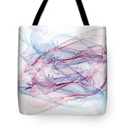 Illusions In Flights Of Mind Tote Bag