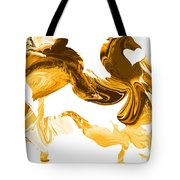 Illusions In Gold Tote Bag
