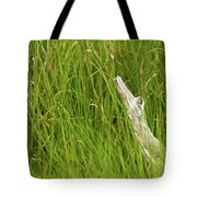 Illusions In The Grass Tote Bag