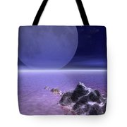 Illustrated Evening Tote Bag