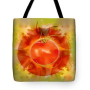 Illustration Of Tomato Tote Bag