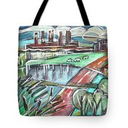 illustration of typical Holland Tote Bag