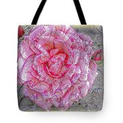 Illustration Rose Pink Tote Bag