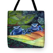I'm In Love With A Big Blue Frog Tote Bag