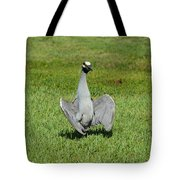 I'm Just Standing Here Tote Bag