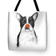 I'm Not Your Clown Tote Bag