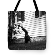 I'm Watching You Black And White Tote Bag
