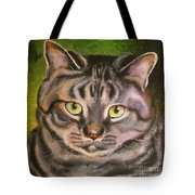 Im Your Man Tabby Tote Bag