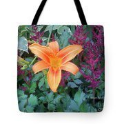 Image Included In Queen The Novel - Late Summer Blooming In Vermont 23of74 Enhanced Tote Bag