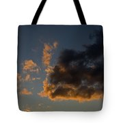 Image Of Clouds At Sunset Tote Bag