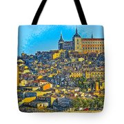 Image Of Portugal From The Road Tote Bag