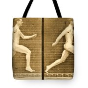 Image Sequence From Animal Locomotion Series Tote Bag