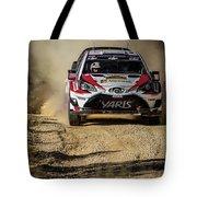 imagejunky_KB - RallyRACC WRC Spain - Esapekka Lappi / Janne Ferm Tote Bag