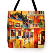 Images Of The French Quarter Tote Bag