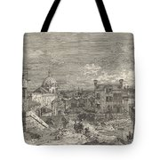 Imaginary View Of Venice Tote Bag