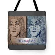 Imagine Again Tote Bag