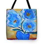 Imagine In Blue Tote Bag