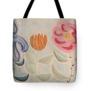 Imagined Flowers Two Tote Bag