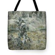 Imatra In Wintertime Tote Bag